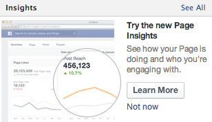 new facebook insights